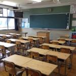 多賀中学校天板交換
