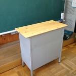 多賀小学校天板交換