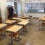 木之本小学校・虎姫高校天板交換